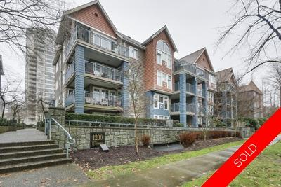 North Coquitlam Apartment for sale: Lakeside Terrace 1 bedroom  Stainless Steel Appliances, Hardwood Floors 683 sq.ft. (Listed 2019-01-23)